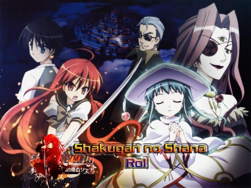 Shakugan no shana/Rol