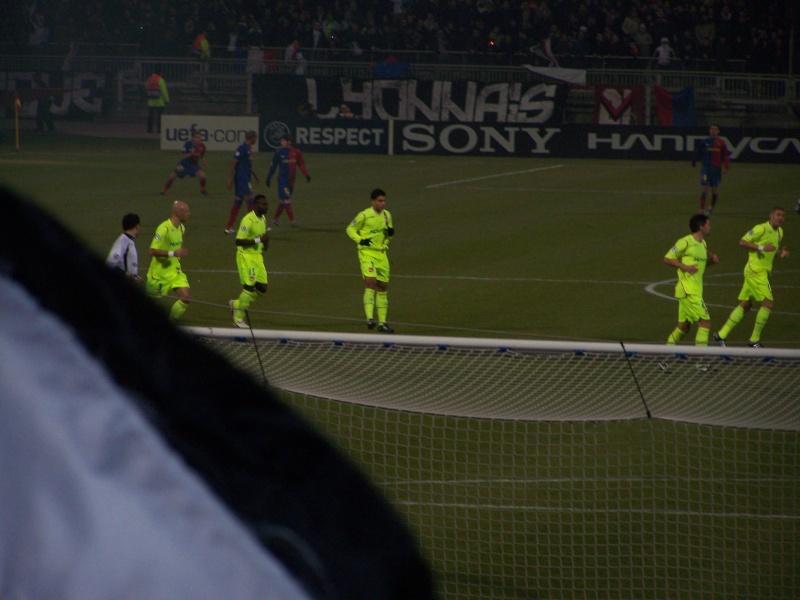 Match : Olympique Lyonnais - F.C. Barcelona 101_1010