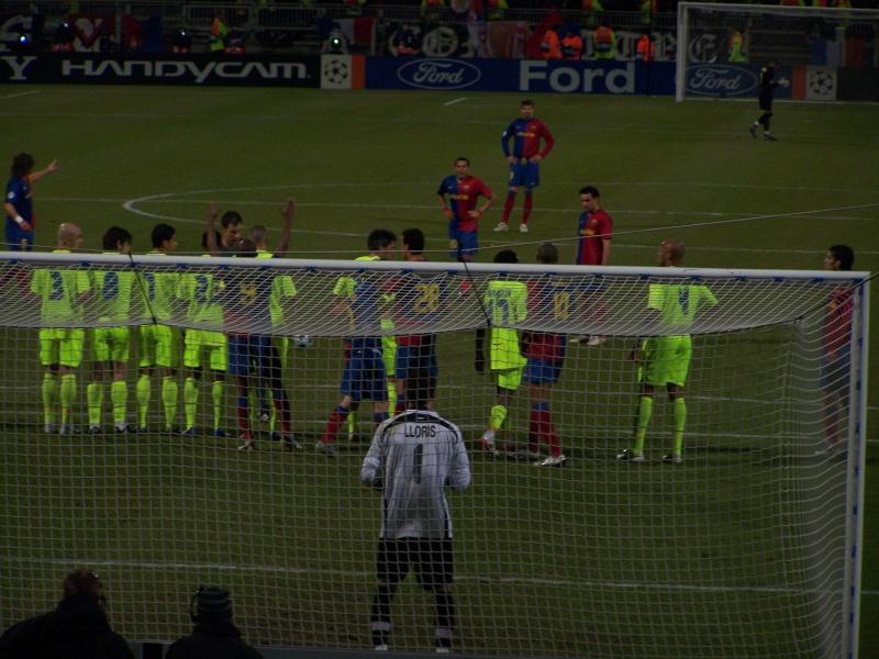 Match : Olympique Lyonnais - F.C. Barcelona 101_1012