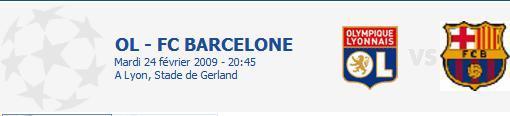 Match : Olympique Lyonnais - F.C. Barcelona Ol_fcb11
