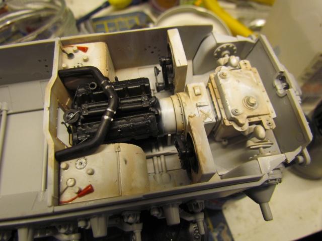 peinture -   m26 pershing alain fin de peinture de la caisse 00417