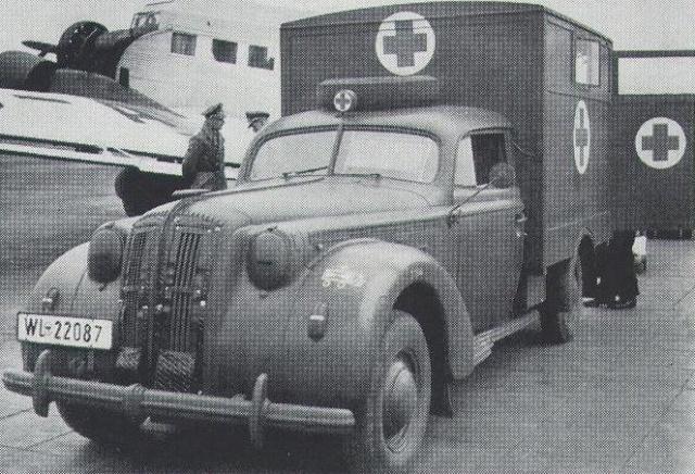 opel - opel ambulance terminée Admirs10