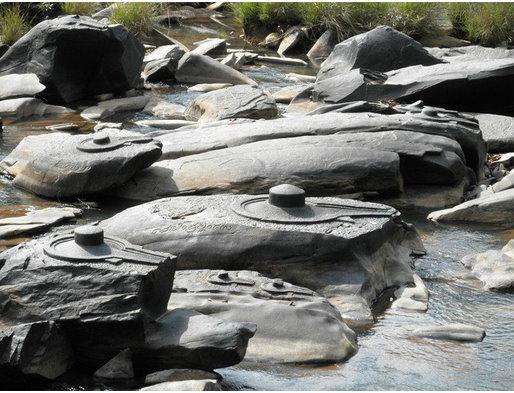 Quand une rivière ancienne sort de son lit, elle nous fait voyager dans le passé… Indian15