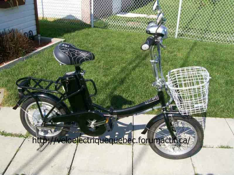 Vélo pliable Voyageur 24V 100_6511