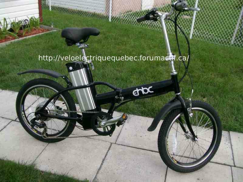Vélo EHBC F20 Pliable 36V 100_7310