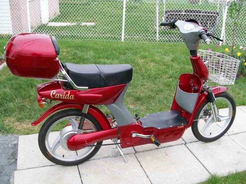 Scooter électrique CARIDA 100_7510