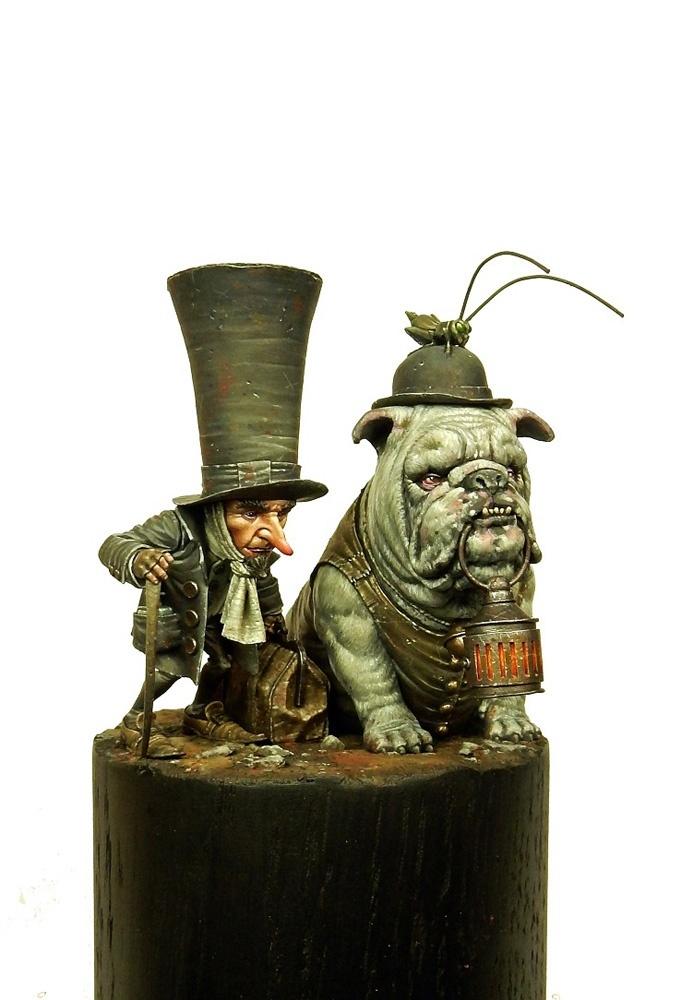 Sculptures d'après dessins de Jean-Baptiste Monge Crooks11