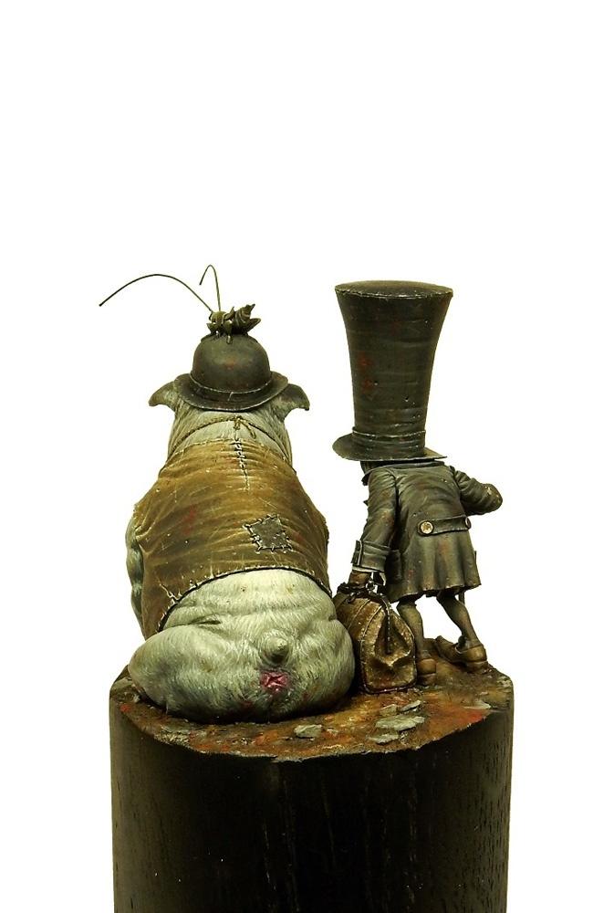 Sculptures d'après dessins de Jean-Baptiste Monge Crooks14