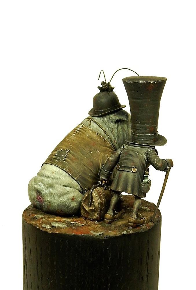 Sculptures d'après dessins de Jean-Baptiste Monge Crooks15