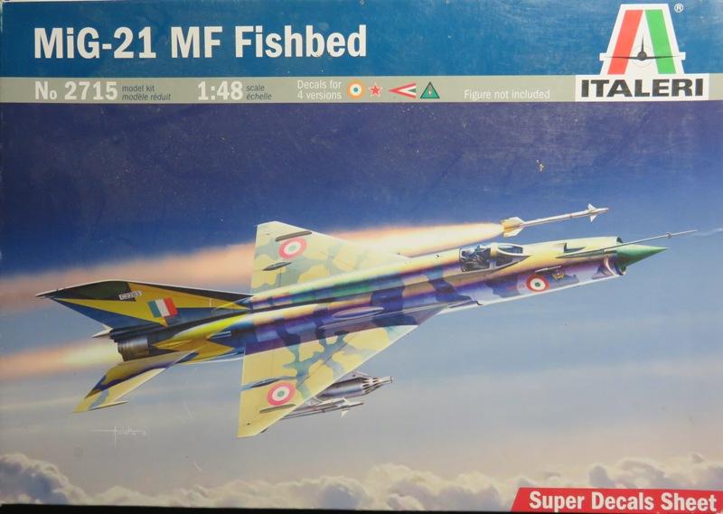 Mikoyan Gurevitch MiG-21MF  [ITALERI 1/48] Img_7333