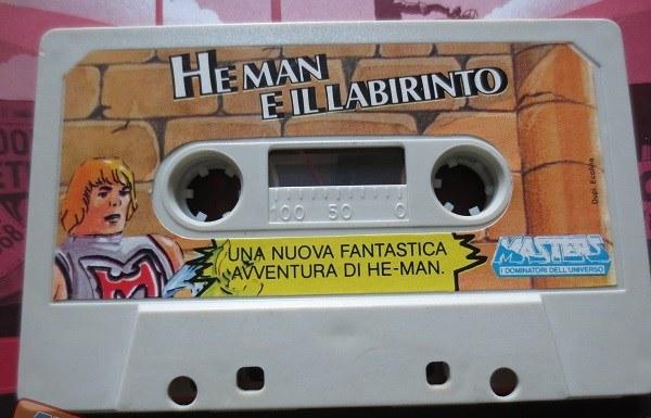 CERCO CASSETTA AUDIO HE MAN E IL LABIRINTO MASTER#BIG JIM Bjhe10