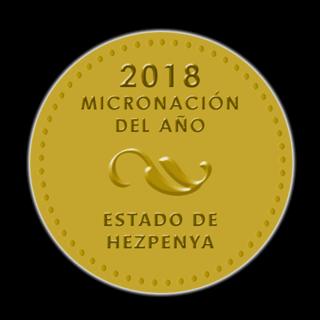 Premio Lucero Micronación del Año 2018 201815