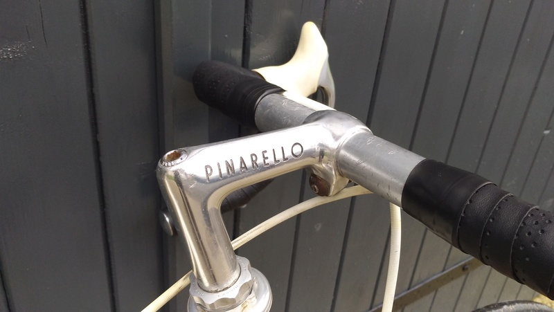 pinarello - Pinarello 80's à identifier Potenc10