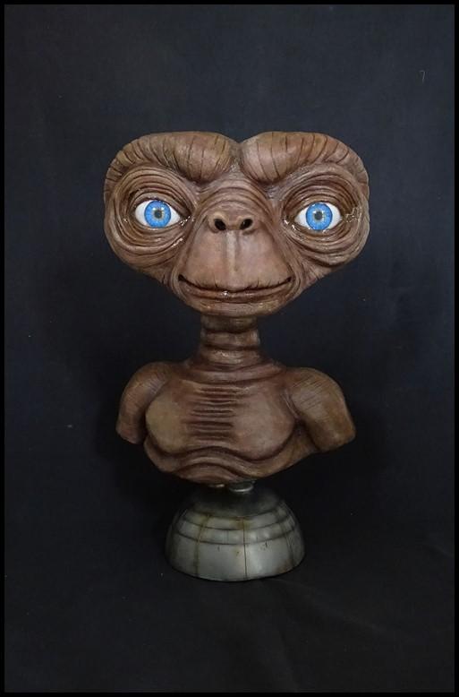 E.T lifesize buste Et_110
