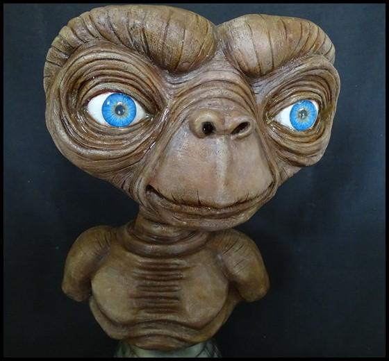 E.T lifesize buste Et_1110