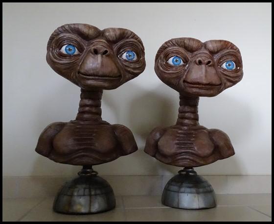 E.T lifesize buste Et_210