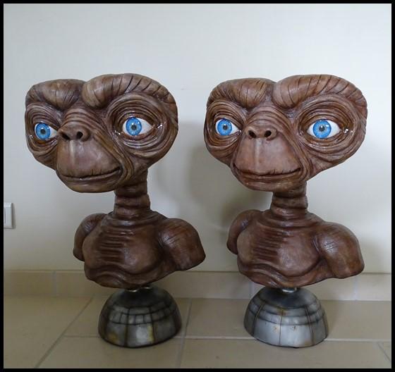 E.T lifesize buste Et_310