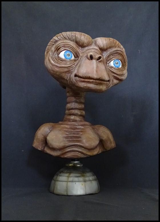 E.T lifesize buste Et_910
