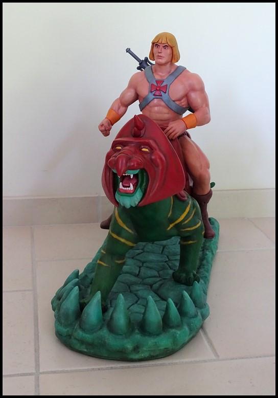 He-man battlecat 1/4 (filmation) He-man10