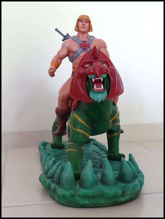 He-man battlecat 1/4 (filmation) He-man11