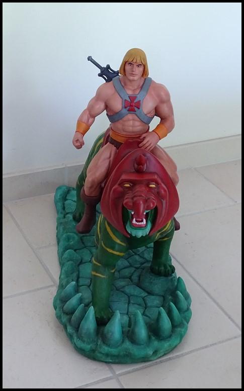 He-man battlecat 1/4 (filmation) He-man14