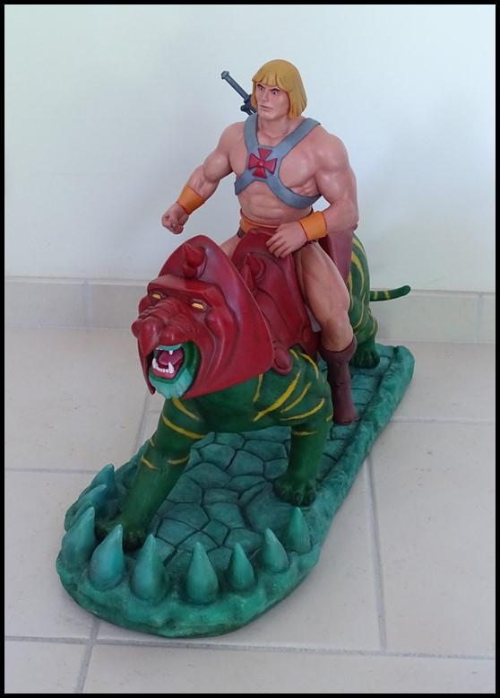 He-man battlecat 1/4 (filmation) He-man15