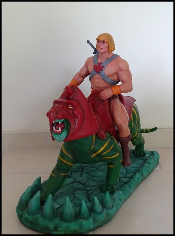 He-man battlecat 1/4 (filmation) He-man23