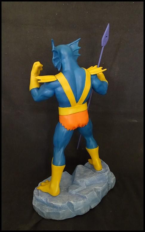 Mer-man (filmation) 1/4 statue Mer-ma12