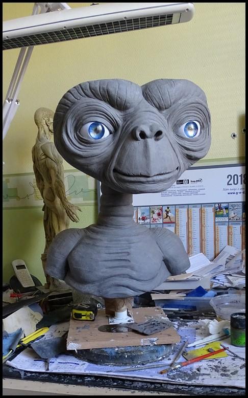 E.T lifesize buste Wip_3710