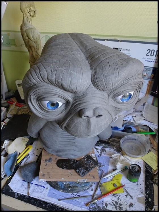 E.T lifesize buste Wip_3810