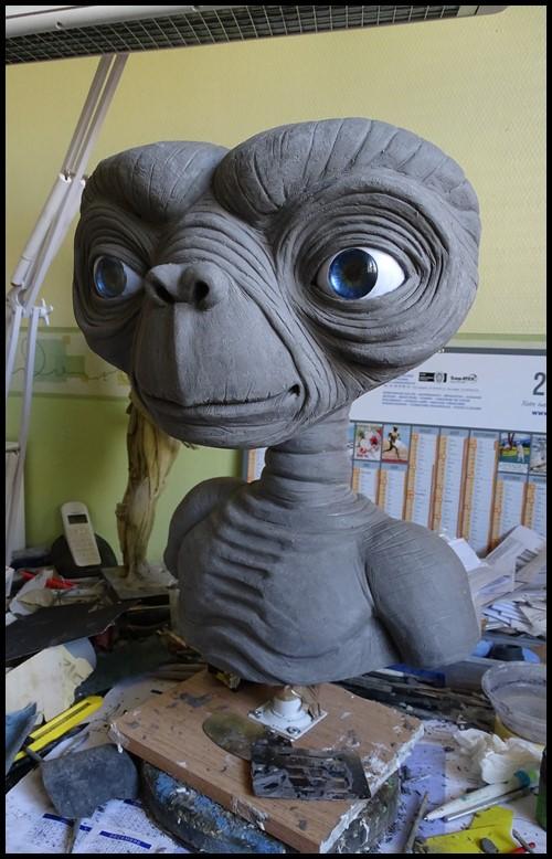 E.T lifesize buste Wip_3910