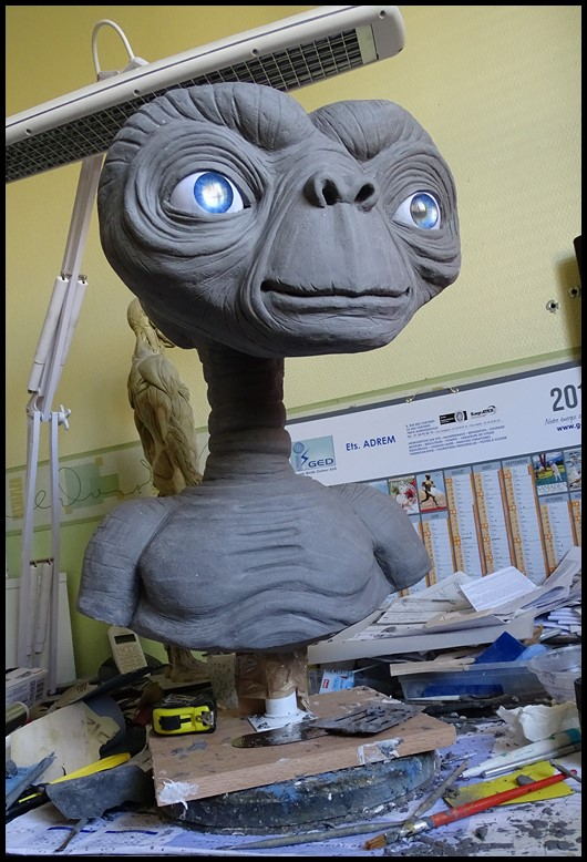 E.T lifesize buste Wip_4310