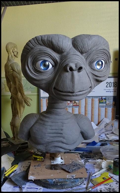 E.T lifesize buste Wip_4410