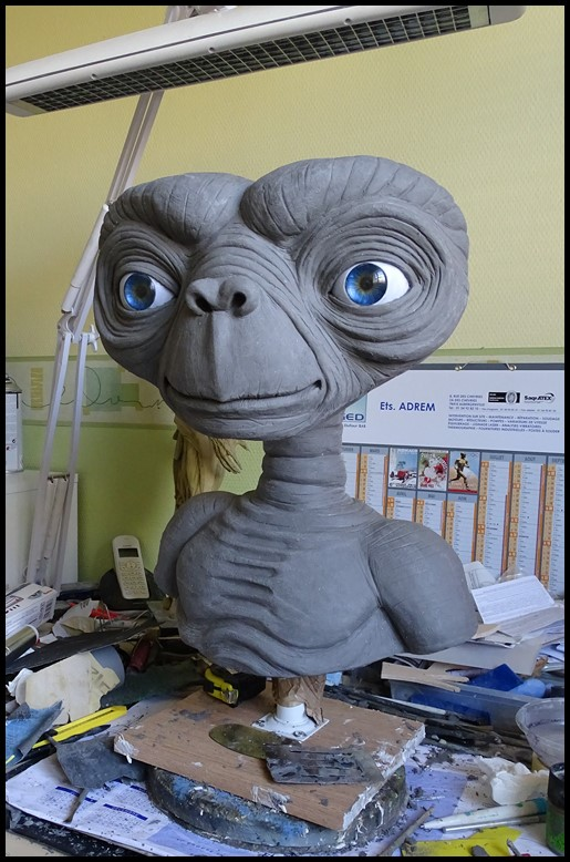 E.T lifesize buste Wip_4510