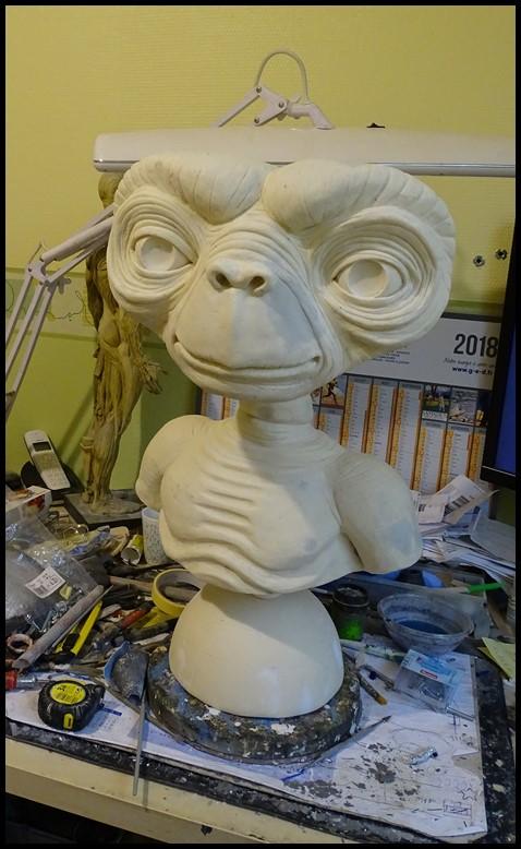 E.T lifesize buste Wip_4610