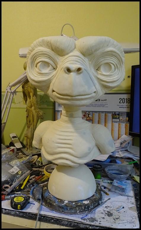E.T lifesize buste Wip_4710