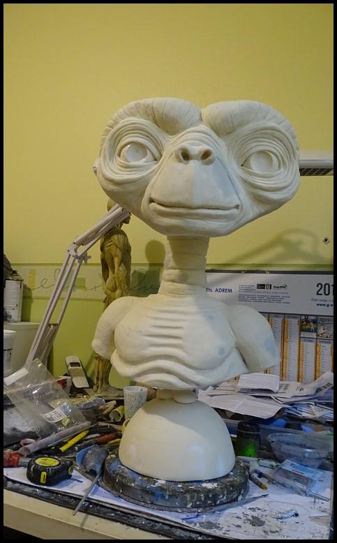 E.T lifesize buste Wip_5110