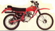 Evolution des : MONOCYLINDRES  HONDA 125  TRIAL 200_xr10