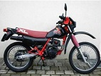 Evolution des : MONOCYLINDRES  HONDA 125  TRIAL Honda-10