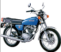 Evolution des : MONOCYLINDRES  HONDA 125  TRIAL Honda_11