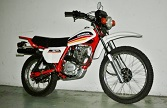Evolution des : MONOCYLINDRES  HONDA 125  TRIAL Honda_15