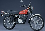 Evolution des : MONOCYLINDRES  HONDA 125  TRIAL Honda_16
