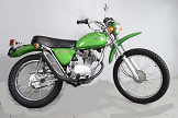 Evolution des : MONOCYLINDRES  HONDA 125  TRIAL Sl10
