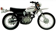 Evolution des : MONOCYLINDRES  HONDA 125  TRIAL Xl-25010