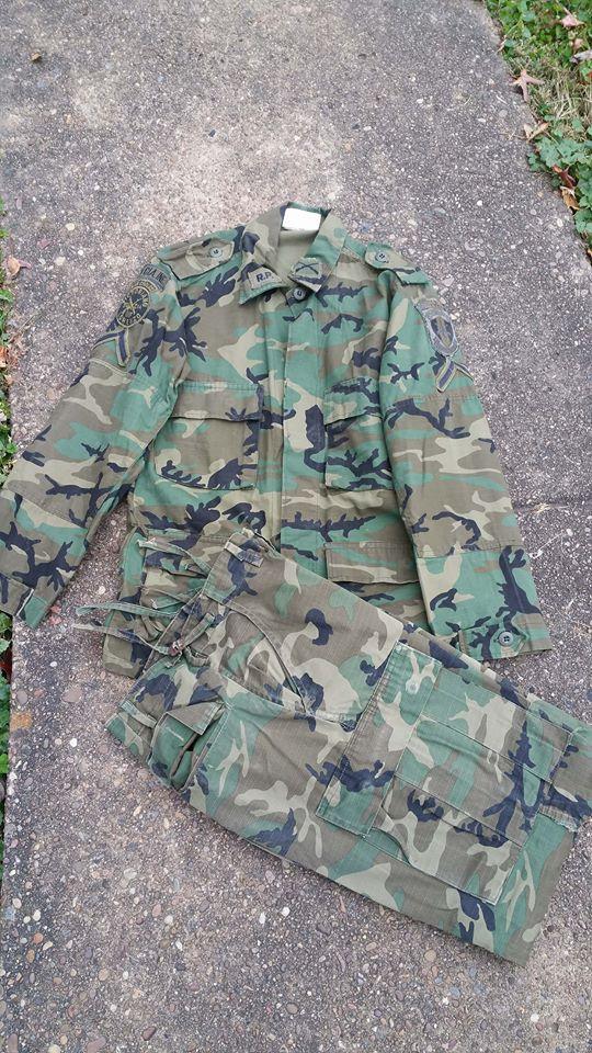 Panamanian Defense Forces Woodland BDU Set 23666410