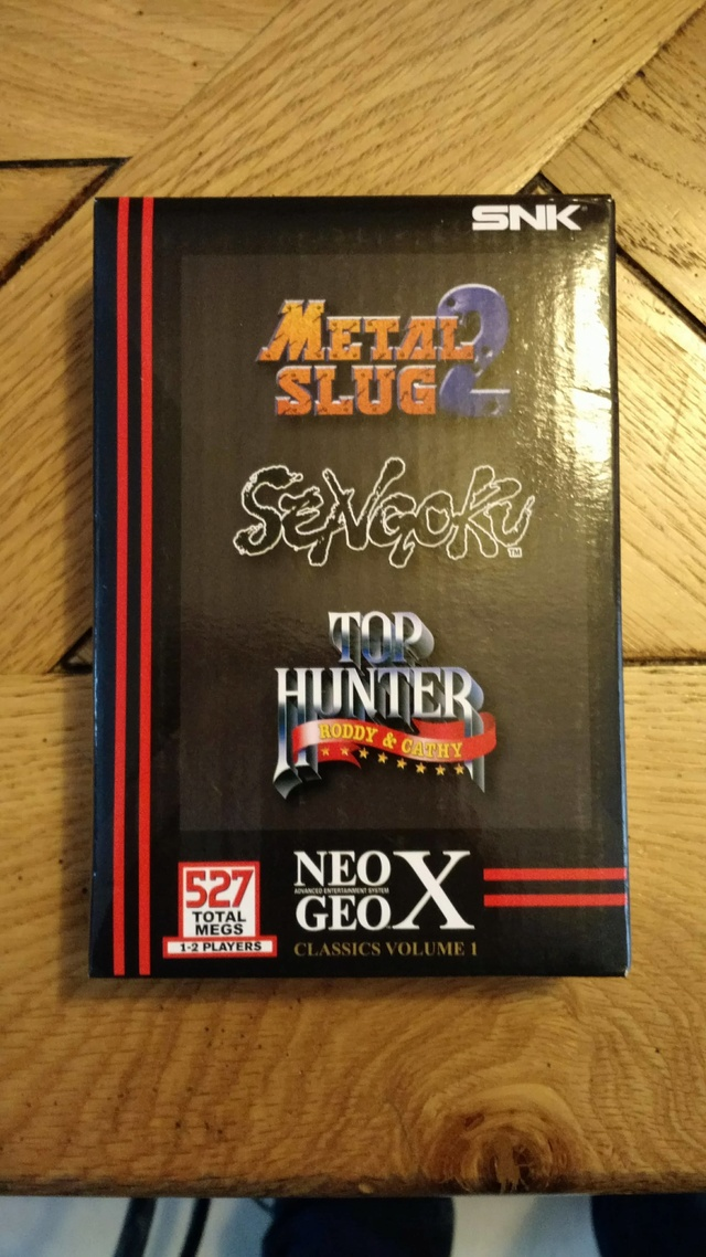 [EST] Neogeo X Classics Volume 1 neuf et scellé  23514611