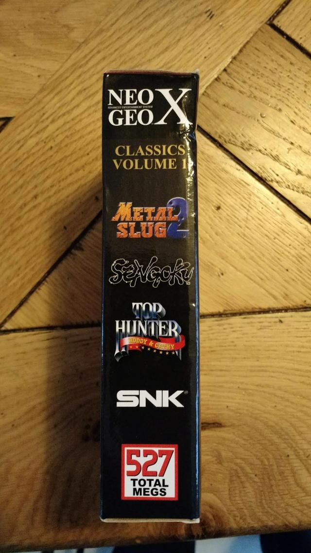 [EST] Neogeo X Classics Volume 1 neuf et scellé  23516010
