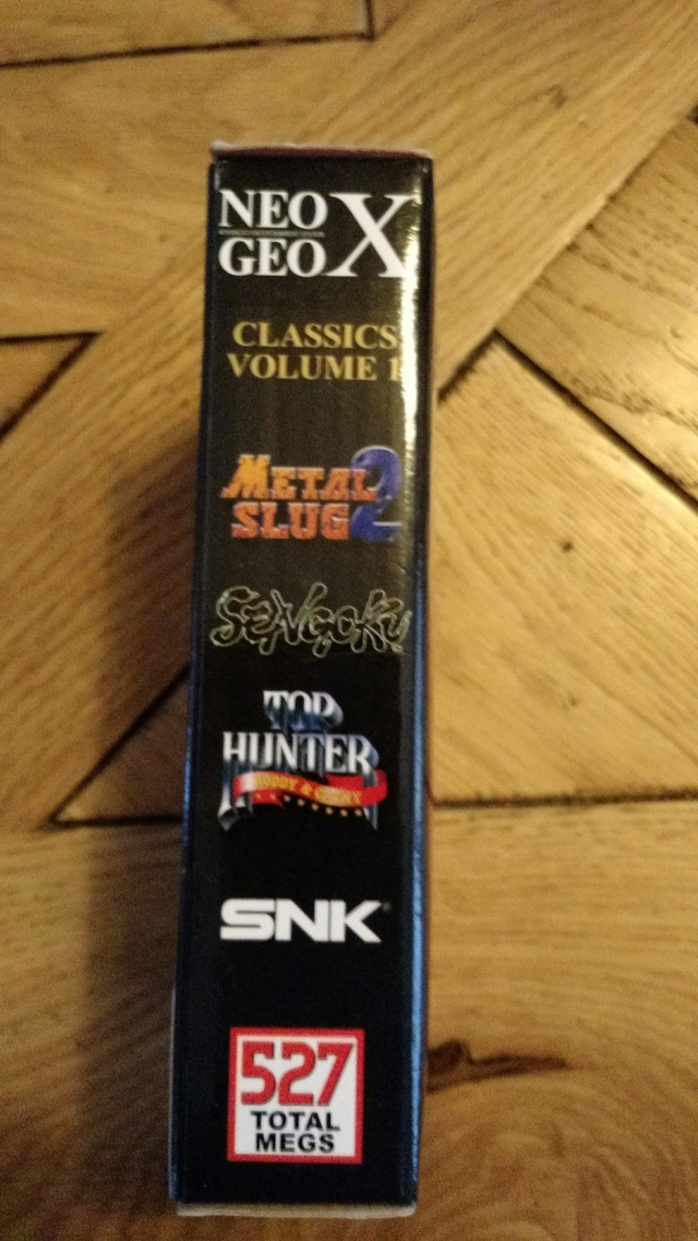 [EST] Neogeo X Classics Volume 1 neuf et scellé  23555410