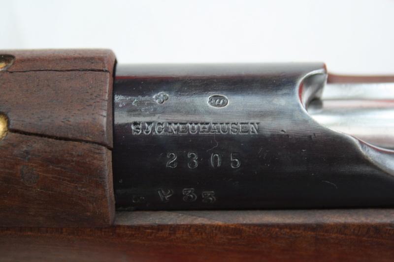 Mousqueton de cavalerie modèle 1893 (Mannlicher) 07110