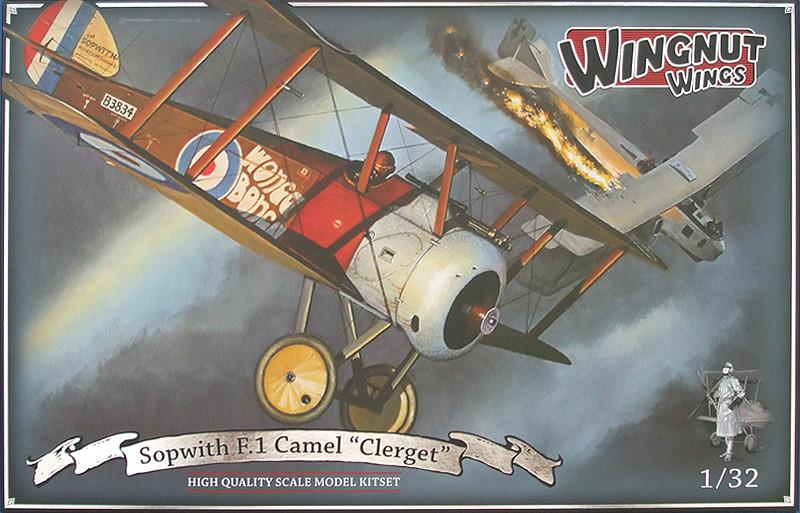 "SOPWIHT F1 Camel "" Clerget""  Belgian air force Box12"